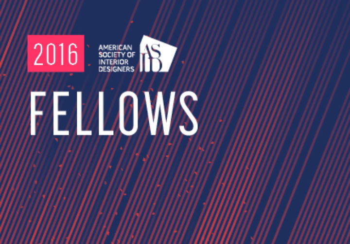 ASID Names 2016 Fellows: Nine Exemplary Designers Earn Society's Highest Honor
